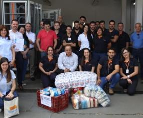 SOMA é contemplado com doação de arroz e papel