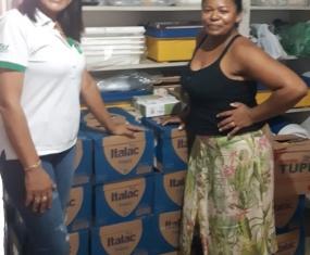 Lar Mãe Esperança recebe mais de 400 l de leite
